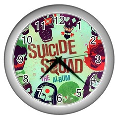 Panic! At The Disco Suicide Squad The Album Wall Clocks (silver)  by Samandel