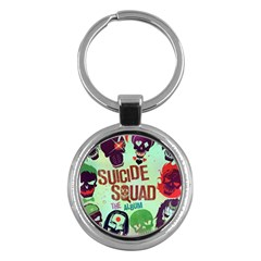 Panic! At The Disco Suicide Squad The Album Key Chains (round)  by Samandel