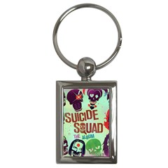 Panic! At The Disco Suicide Squad The Album Key Chains (rectangle)  by Samandel