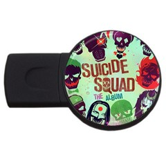 Panic! At The Disco Suicide Squad The Album Usb Flash Drive Round (2 Gb) by Samandel