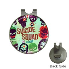 Panic! At The Disco Suicide Squad The Album Hat Clips With Golf Markers by Samandel