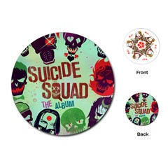 Panic! At The Disco Suicide Squad The Album Playing Cards (round)  by Samandel