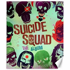Panic! At The Disco Suicide Squad The Album Canvas 8  X 10  by Samandel