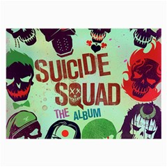 Panic! At The Disco Suicide Squad The Album Large Glasses Cloth by Samandel