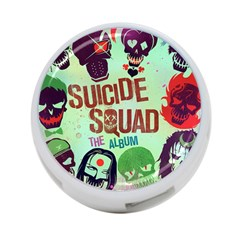 Panic! At The Disco Suicide Squad The Album 4 Port Usb Hub (one Side) by Samandel