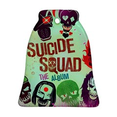 Panic! At The Disco Suicide Squad The Album Bell Ornament (two Sides) by Samandel