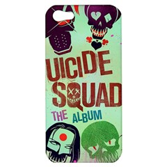 Panic! At The Disco Suicide Squad The Album Apple Iphone 5 Hardshell Case by Samandel