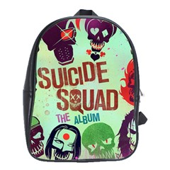 Panic! At The Disco Suicide Squad The Album School Bag (xl) by Samandel