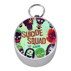Panic! At The Disco Suicide Squad The Album Mini Silver Compasses by Samandel