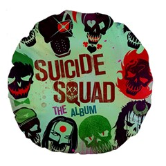 Panic! At The Disco Suicide Squad The Album Large 18  Premium Flano Round Cushions by Samandel