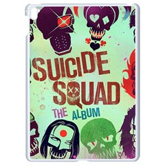 Panic! At The Disco Suicide Squad The Album Apple Ipad Pro 9 7   White Seamless Case by Samandel