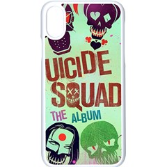 Panic! At The Disco Suicide Squad The Album Apple Iphone X Seamless Case (white) by Samandel