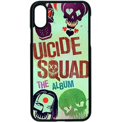 Panic! At The Disco Suicide Squad The Album Apple Iphone X Seamless Case (black) by Samandel