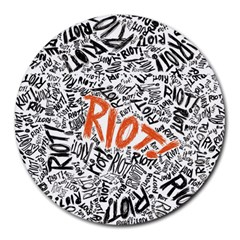 Paramore Is An American Rock Band Round Mousepads by Samandel