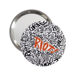 Paramore Is An American Rock Band 2 25  Handbag Mirrors by Samandel