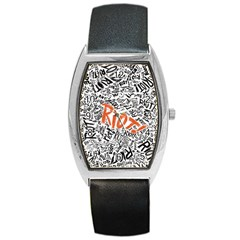 Paramore Is An American Rock Band Barrel Style Metal Watch by Samandel