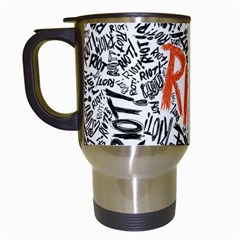 Paramore Is An American Rock Band Travel Mugs (white) by Samandel