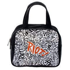 Paramore Is An American Rock Band Classic Handbags (one Side) by Samandel