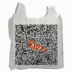 Paramore Is An American Rock Band Recycle Bag (one Side) by Samandel