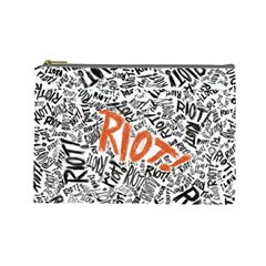 Paramore Is An American Rock Band Cosmetic Bag (large)  by Samandel