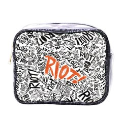Paramore Is An American Rock Band Mini Toiletries Bags by Samandel