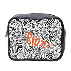 Paramore Is An American Rock Band Mini Toiletries Bag 2 Side by Samandel