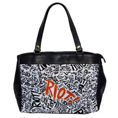 Paramore Is An American Rock Band Office Handbags by Samandel