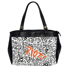 Paramore Is An American Rock Band Office Handbags (2 Sides)  by Samandel