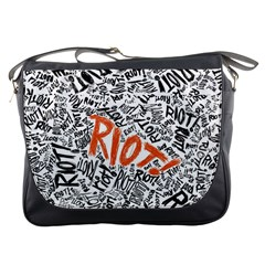 Paramore Is An American Rock Band Messenger Bags by Samandel