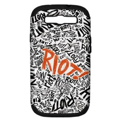 Paramore Is An American Rock Band Samsung Galaxy S Iii Hardshell Case (pc+silicone) by Samandel