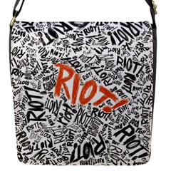 Paramore Is An American Rock Band Flap Messenger Bag (s) by Samandel