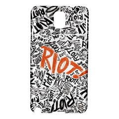 Paramore Is An American Rock Band Samsung Galaxy Note 3 N9005 Hardshell Case by Samandel