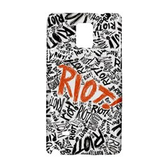 Paramore Is An American Rock Band Samsung Galaxy Note 4 Hardshell Case by Samandel