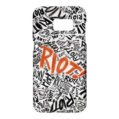 Paramore Is An American Rock Band Samsung Galaxy S7 Hardshell Case  by Samandel