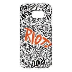 Paramore Is An American Rock Band Samsung Galaxy S7 Edge Hardshell Case by Samandel