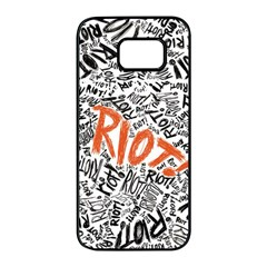 Paramore Is An American Rock Band Samsung Galaxy S7 Edge Black Seamless Case by Samandel