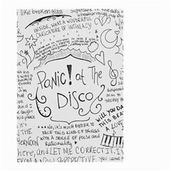 Panic! At The Disco Lyrics Small Garden Flag (two Sides) by Samandel