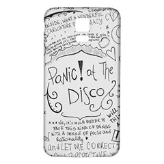 Panic! At The Disco Lyrics Samsung Galaxy S5 Back Case (white) by Samandel