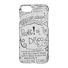 Panic! At The Disco Lyrics Apple Iphone 7 Hardshell Case