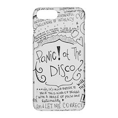 Panic! At The Disco Lyrics Apple Iphone 8 Plus Hardshell Case by Samandel