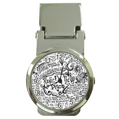 Panic! At The Disco Lyric Quotes Money Clip Watches by Samandel