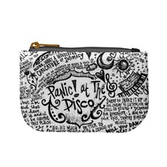 Panic! At The Disco Lyric Quotes Mini Coin Purses by Samandel