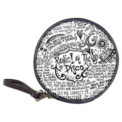 Panic! At The Disco Lyric Quotes Classic 20 Cd Wallets by Samandel
