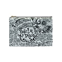 Panic! At The Disco Lyric Quotes Cosmetic Bag (medium)  by Samandel