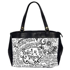 Panic! At The Disco Lyric Quotes Office Handbags (2 Sides)  by Samandel