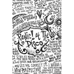 Panic! At The Disco Lyric Quotes 5 5  X 8 5  Notebooks by Samandel