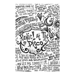 Panic! At The Disco Lyric Quotes Shower Curtain 48  X 72  (small)  by Samandel