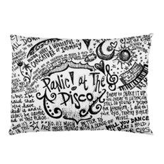 Panic! At The Disco Lyric Quotes Pillow Case (two Sides) by Samandel