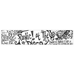 Panic! At The Disco Lyric Quotes Small Flano Scarf by Samandel