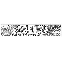 Panic! At The Disco Lyric Quotes Large Flano Scarf  by Samandel